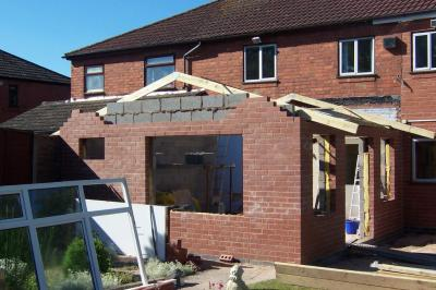 Extention 1 - Before Roof